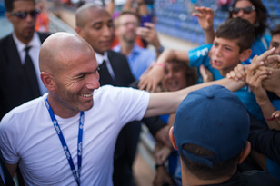 Zinedine Zidane, partenaire de la DNC
